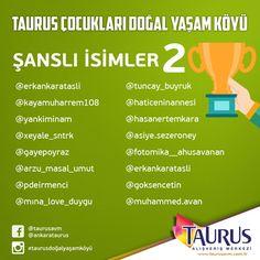 Doğal Yaşam Köyümüzün son kazananlarını tebrik ediyoruz! Taurus AVM'nin sürprizlerini kaçırmamak için takipte kalmaya devam edin!