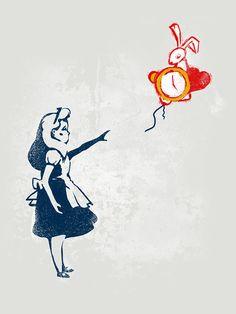 Banksy in Wonderland