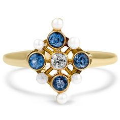 14K Yellow Gold The Nassau Ring from Brilliant Earth