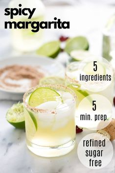 This is the best Spicy Margarita recipe out there! Starts with a base of fresh lime juice, silver tequila and agave then spiced with a bit of jalapeño for a refreshing cocktail! Spicy Skinny Margarita Recipe, Pitcher Margarita Recipe, Margarita Recipes, Best Margarita Recipe For A Crowd, Margarita Salt, Jalapeno Margarita, Healthy Cocktails, Summer Cocktails, Rumchata Recipes