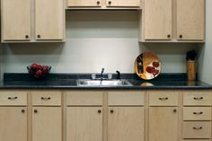 Painting or staining unfinished cabinets. Step by step instructions and useful tips.