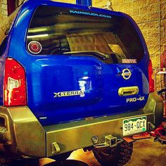 Awesome teaser pic by #NISSTEC of the new standard issue rear color-matched #XTERRA #EXPEDITION #HEFTYFABWORKS bumper on the #RAINGLERNETS rig! www.raingler.com