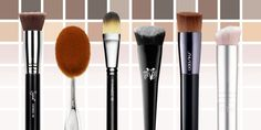 The Best Foundation Brushes for Flawless Face Coverage