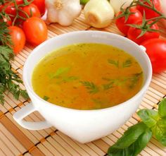 Healing Broth is a powerful mineral-rich liquid that carries the essence of vitally nutritious vegetables, herbs, & spices in a way that is easy for the body to digest, assimilate, and utilize. You will find this recipe as comforting as it is nourishing. Soup Recipes, Cooking Recipes, Healthy Recipes, Cooking Ham, Diet Recipes, Bone Broth Benefits, Healing Soup, Medium Recipe, Soup Broth
