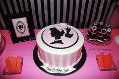 "Photo 8 of 13: Vintage Barbie / Birthday ""Saylor's 6 & Half Birthday Extravaganzas""   Catch My Party"