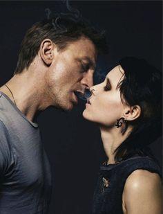 Daniel Craig & Rooney Mara by Jean-Baptiste Mondino