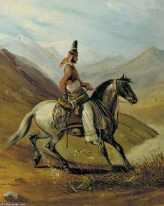 PINTORES VIAJEROS Johann Moritz Rugendas (German:1802–1858)