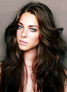 Shades Of Brown Hair Color Pinterest
