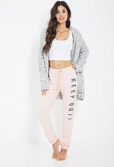 nice Sleepwear  Lounge | WOMEN | Forever 21... - Lingerie, Sleepwear & Loungewear - http://amzn.to/2ieOApL