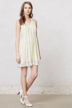 Shimmer Channel Dress - anthropologie.com