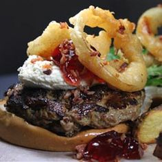 The crowd pleaser burger