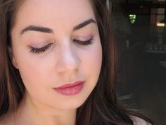 Blossom in Blush - ColourPop Mondays in Malibu makeup look ; Prickly Pear, Sand Swoon, Hot Tamale, Gecko