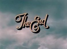 #end #The End