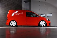 Guilt By Association - lowered Caddy delivery van