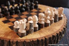Cool idea! Get unique chess sets at Chess Baron http://www.chessbaron.ca/unusual-chess-sets.php