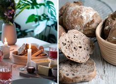 valnøddebrød Bread, Cheese, Food, Breads, Baking, Meals, Yemek, Sandwich Loaf, Eten