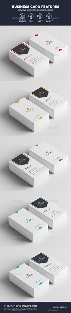 Business Cards - Creative Business Cards Download here : https://graphicriver.net/item/business-cards/20356113?s_rank=27&ref=Al-fatih #business card template #business card #business #card #design #psd #template #premium design