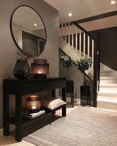 Hallway Inspiration, Home Decor Inspiration, Decor Ideas, Room Ideas, Decorating Ideas, Home Design Decor, Interior Design Living Room, Design Ideas, Living Room Designs