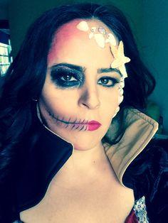 Mejores 17 Imagenes De Maquillaje Pirata En Pinterest Kostume - Maquillaje-de-pirata-para-mujer