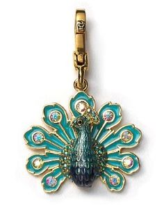 Juicy Couture Peacock Charm
