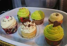 #Cupcakes #colorfull #rainbow #vainilla #chocolate #lemon #oreo #cute #hot #delicious