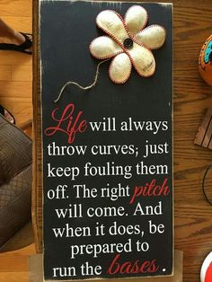 I need to make this. Great gift for the baseball loving family.