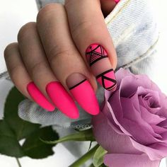 32 Star Nails designs to fall in love with Classy Nails, Stylish Nails, Trendy Nails, Cute Nails, Star Nail Designs, Long Nail Designs, Star Nails, Neon Nails, Baby Pink Nails Acrylic