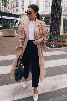 Lorna Luxe runway Beige Lightweight Trench Coat In The Style Glamouröse Outfits, Casual Winter Outfits, Winter Fashion Outfits, Classy Outfits, Look Fashion, Fall Outfits, Autumn Fashion, Zara Fashion, Stylish Work Outfits