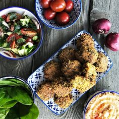 .jazzino.: Kodused falafelid Falafel, Vegan, Ethnic Recipes, Food, Falafels, Hoods, Meals, Vegans