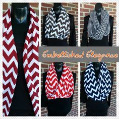 Contact Embellished Elegance to get your infinity scarf.