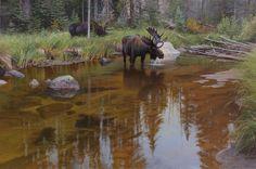 Backwater Brothers - Colorado landscape paintings | Jay Moore | Jay Moore Studio