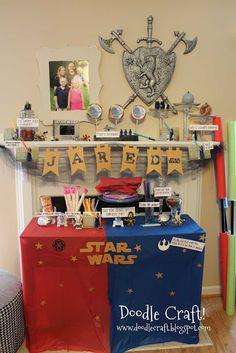 Star Wars Birthday Party!