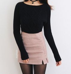 trendy outfits for fall ~ trendy outfits . trendy outfits for school . trendy outfits for summer . trendy outfits for women . trendy outfits for fall . Look Fashion, Teen Fashion, Korean Fashion, Autumn Fashion, Fashion Outfits, Fashion Trends, Sexy Fashion Style, Trending Fashion, Skirt Fashion