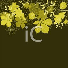 iCLIPART - Royalty Free Clipart Image of an Autumn Leaf Background