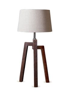 Stanton Table Lamp (Brown) by Filament at Gilt