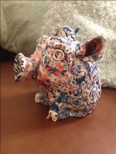 Ceramic piggy