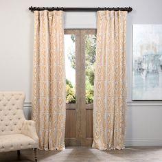 Three Posts Madeira Thermal Blackout Single Curtain Panel