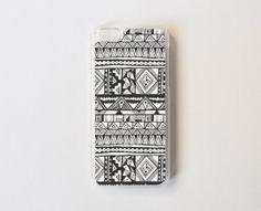 Tribal iPhone 5c Case  Black & White iPhone 5c Case by PelhamCases, $21.99