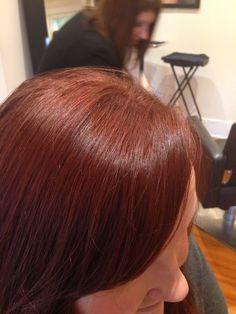 Cinnamon copper tones, by anna@ raw hair studio!