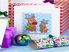 Christmas cuties | Free Chart | Cross Stitching