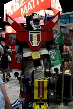 Voltron, Defender of the Universe.