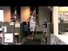 omfg this is my favorite commercial -- ever. because Dirk Nowitzki is me on game days haha @katelyn kays