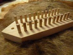 Game of Daldosa, norwegian board game, pinewood.