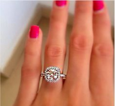 love love love this #diamond #wedding #ring
