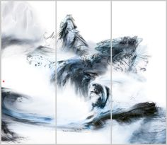 [蓝色的风] 陆军 Lu Jun Ink    Link: lujun.artron.net