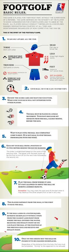Rules_of_FootGolf #Footgolf # TeamUp