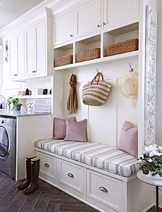 Awesome 90 Awesome Laundry Room Design and Organization Ideas Small laundry room ideas Laundry room decor Laundry room storage Laundry room shelves Small laundry room makeover Laundry closet ideas And Dryer Store Toilet Saving Mudroom Laundry Room, Laundry Room Design, Mudrooms With Laundry, Laundry Baskets, Bathroom Laundry, Laundry Area, Laundry Room Layouts, Laundry Room Remodel, Basement Bathroom