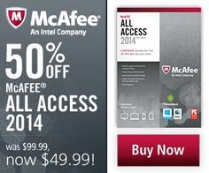 The 2015 lineup from McAfee frees you to surf, shop, bank, and socialize online with confidence. Users can purchase award winning protection with McAfee AntiVirus software.