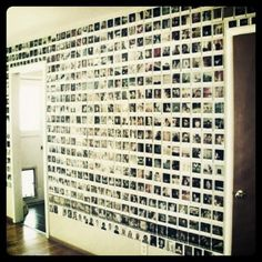 polariod wall... challenge accepted