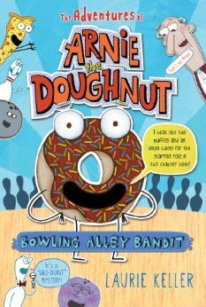 "Bowling alley bandit Arnie the talking doughnut is delighted to be Mr. Bing's new pet ""doughnut-dog,"" so when Mr. Bing starts rolling gutter balls during a big bowling tournament, Arnie suspects foul play and sets out to solve the mystery. All The Bright Places, Foul Play, Summer Reading Lists, Chapter Books, Bowling, Childrens Books, Adventure, Mystery, Balls"